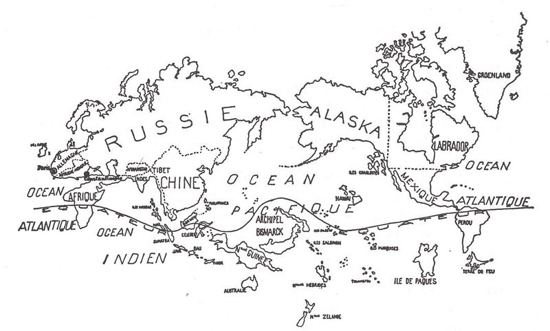 Anonymous-Surrealist Map of the World 1929-Variétés (Brussels)