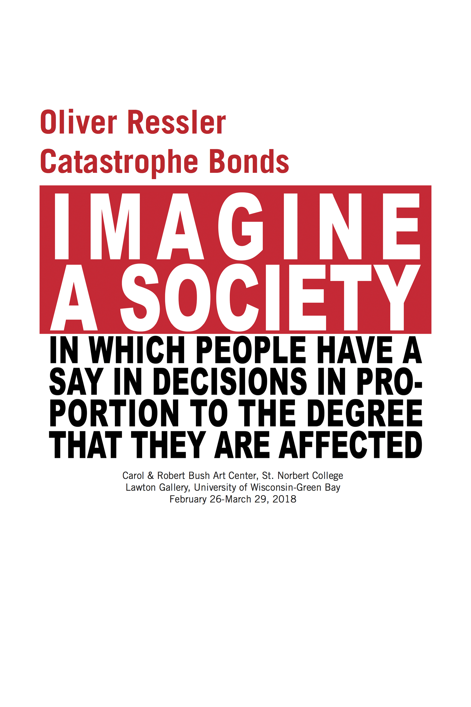 Blog of public secrets this essay was written for the exhibition catalogue oliver ressler catastrophe bonds the first major presentation of the work of oliver ressler in the fandeluxe Image collections