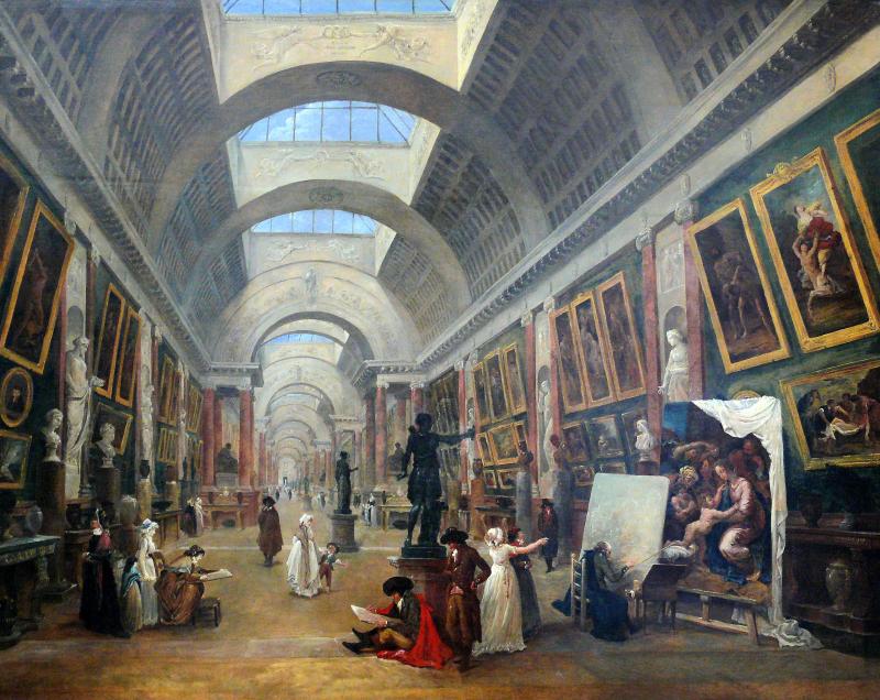 Hubert_Robert_-_Projet_d'aménagement_de_la_Grande_Galerie_du_Louvre